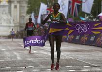 Tiki Gelana (Etiopia) castiga maratonul olimpic