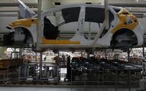 O linie de asamblare Hyundai in Coreea de Sud