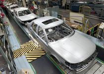 Linia de asamblare Saab
