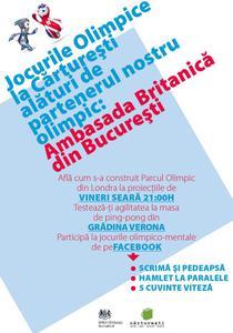 Jocurile Olimpice la Carturesti Verona