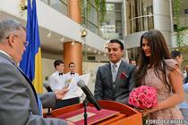 Elena Basescu si Bogdan Ionescu, la cununia civila