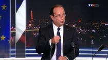 Francois Hollande la TF1