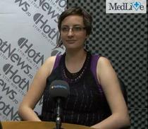 Irina Popescu in studioul HotNews.ro