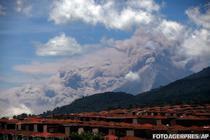 Eruptia vulcanului Fuego din Guatemala