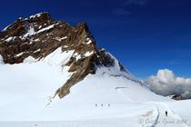 Jungfraujoch, Alpi