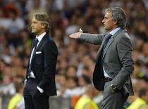 Mourinho a castigat duelul cu Mancini