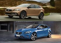 Colaj Volvo V40 Cross Country si Volvo V40 R-Design