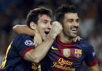Messi, inca o dubla pentru Barcelona