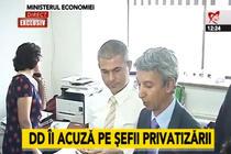 Dan Diaconescu si Remus Vulpescu la Ministerul Economiei