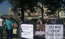 Protest in fata Ministerului Dezvoltarii