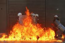 FOTOGALERIE Proteste in Grecia