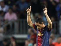 Adriano, gol superb pentru FC Barcelona