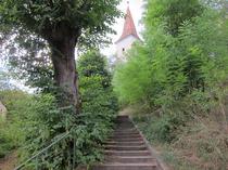 FOTOGALERIE: Biserica-cetate de secol 13, satul Daia, langa Sibiu