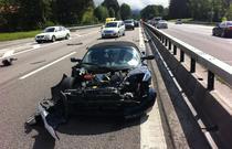 Accident Tesla Roadster Rafael de Mestre