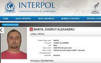 Marta, dat in urmarire de Interpol