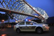 Masina de Politie din Tbilisi