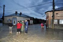 Locuinte inundate in Dorohoi, 2010