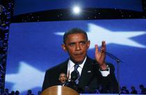 Barack Obama la Conventia Democrata
