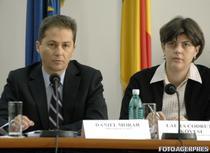 Daniel Morar si Laura Codruta Kovesi (foto arhiva)