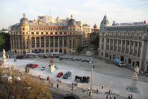 FOTOGALERIE Vezi cum arata Piata Universitatii inainte de finalizarea lucrarilor de amenajare