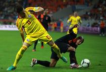 Gicu Grozav (stanga), dorit de Steaua