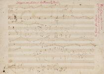 Partitura Beethoven cu autograf