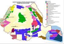 Harta acordurilor petroliere de explorare