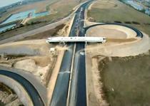 Autostrada Deva-Orastie din avion (octombrie 2012)