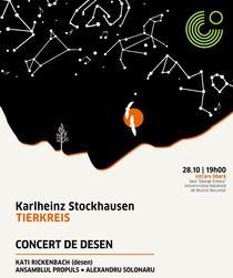 """Concert Karlheinz Stockhausen """"Tierkreis"""""""