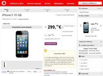 iPhone 5 la Vodafone
