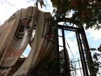 Cladirea monument istoric de pe strada Visarion 8, lasa in paragina de proprietar