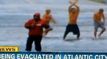 Dans pe strazile din Atlantic City