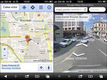 Google Street View pe iOS 6