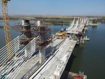 Podul Vidin-Calafat peste Dunare (septembrie 2012)