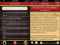 Aplicatie cu rugaciuni pentru iPhone