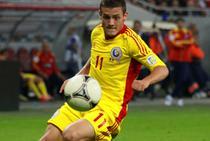 Gabi Torje, in tricoul echipei nationale a Romaniei