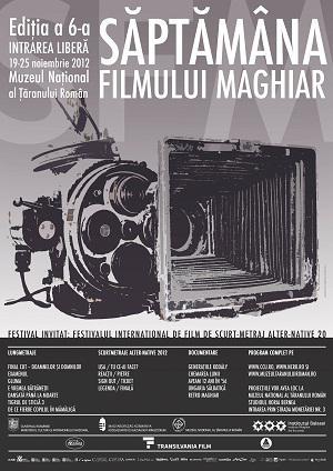 Afis Saptamana Filmului Maghiar