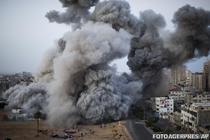 Raiduri israeliene in Fasia Gaza
