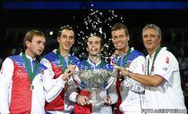 Echipa de Cupa Davis a Cehiei, victorioasa