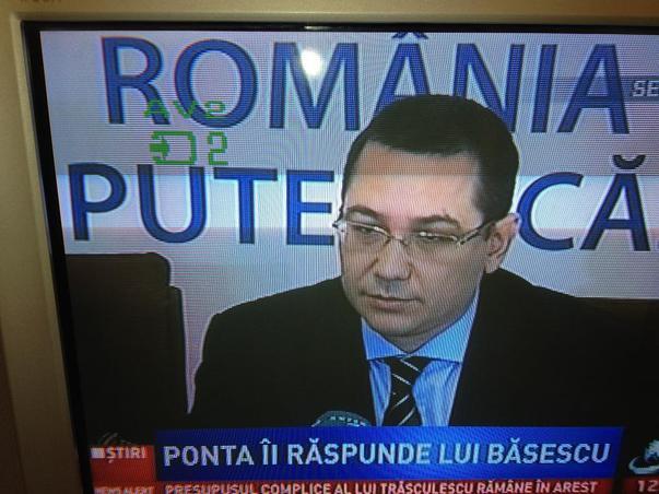 Antena 3 il saboteaza pe Ponta