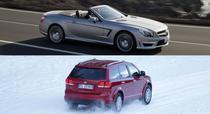 Colaj Mercedes-Benz SL si Fiat Freemont