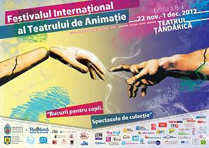 Afis Festivalul International al Teatrului de Animatie 2012