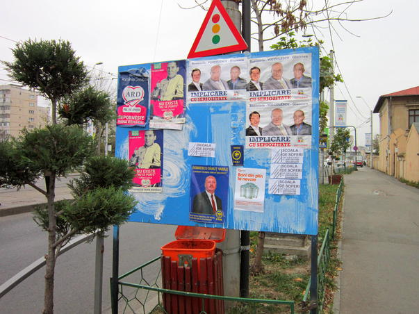 In campanie electorala