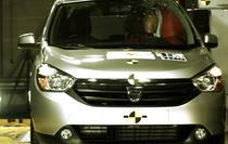 Dacia Lodgy la Euro NCAP