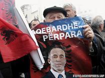 Pristina: Sustinatorii lui Haradinaj sarbatoresc verdictul