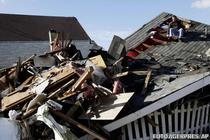 Casa din New York, complet distrusa de uragan