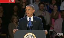 Barack Obama, discursul sustinut dupa castigarea alegerilor