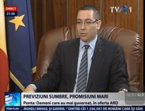 Victor Ponta la TVR
