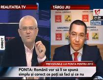 Victor Ponta la Realitatea TV