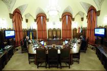 Traian Basescu in videoconferinta cu militarii din Afganistan